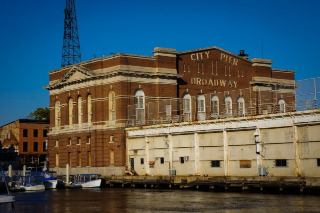 Historic Building in Baltimore's Fells Point Harbor Area