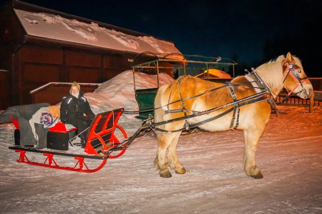 Heritage Ranch Sleigh Ride