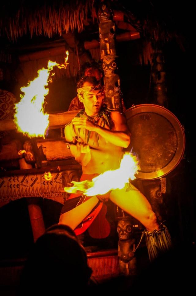 Mai Kai Fire Dancer