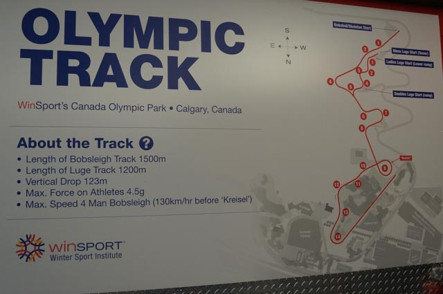 Olympic Track at Winsport Canada Olympic Park