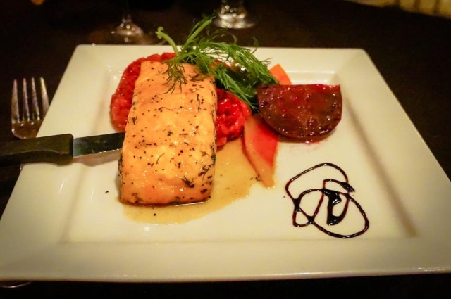 West Lake Grill Salmon