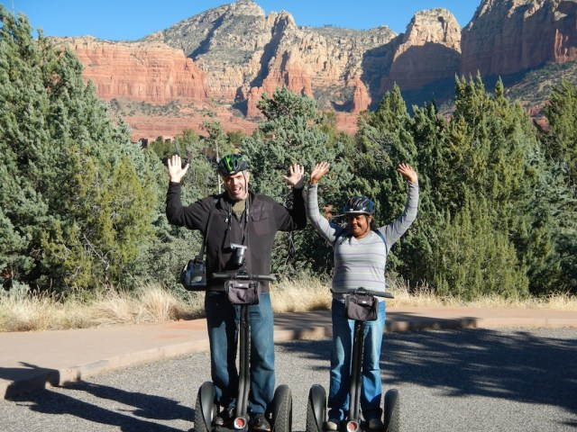 hands free on segway