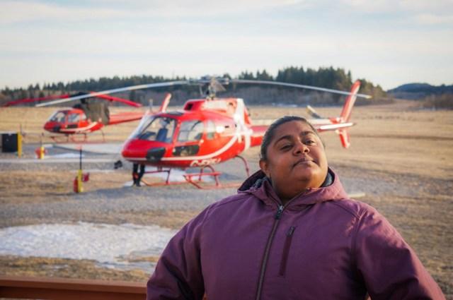 Kananaskis Heli Tour Snowshoeing Adventure