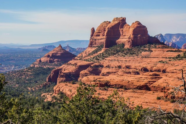 Sedona from up above