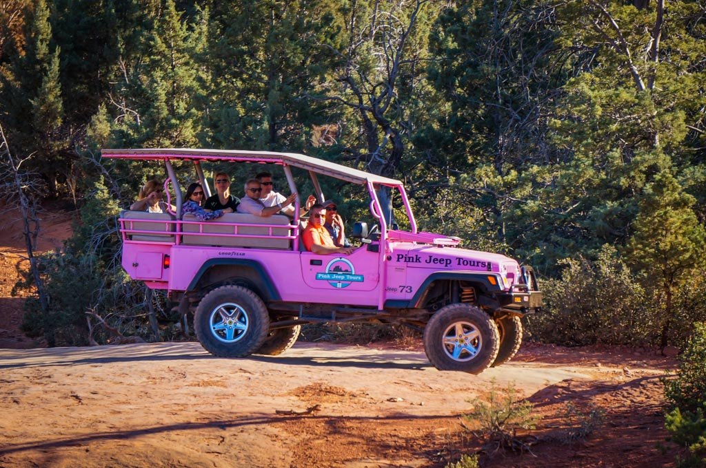 Marvelous Pink Jeep Tour Sedona. This Jeep Is Pretty Badass If You Ask Me!