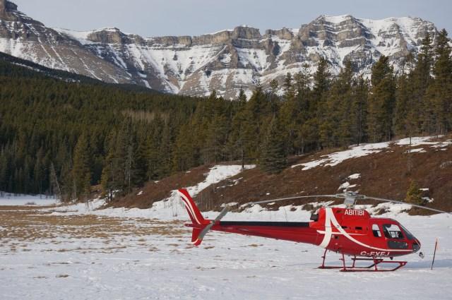 Heli Tour through the Canadian Rockies