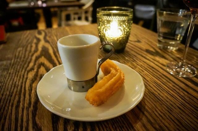 Espresso with a Churro