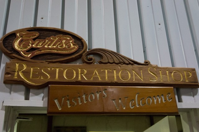 Curtiss Museum Restoration Shop