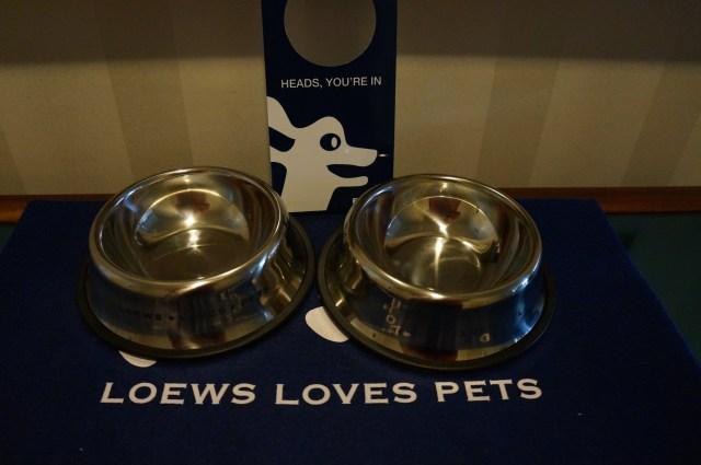 Loews Dog Bowls