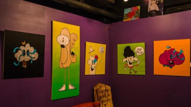 Art at Funk N Waffles