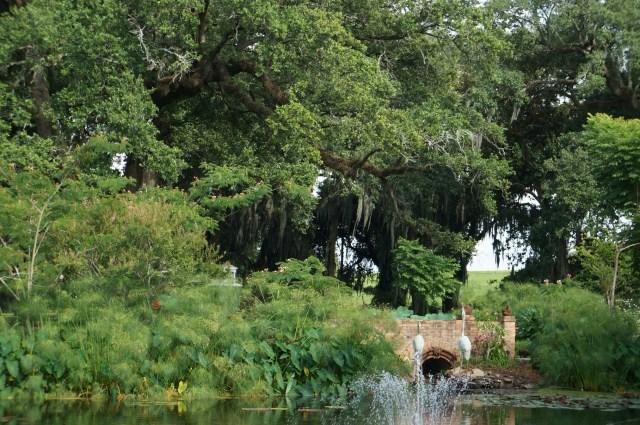 Lake at Houmas House