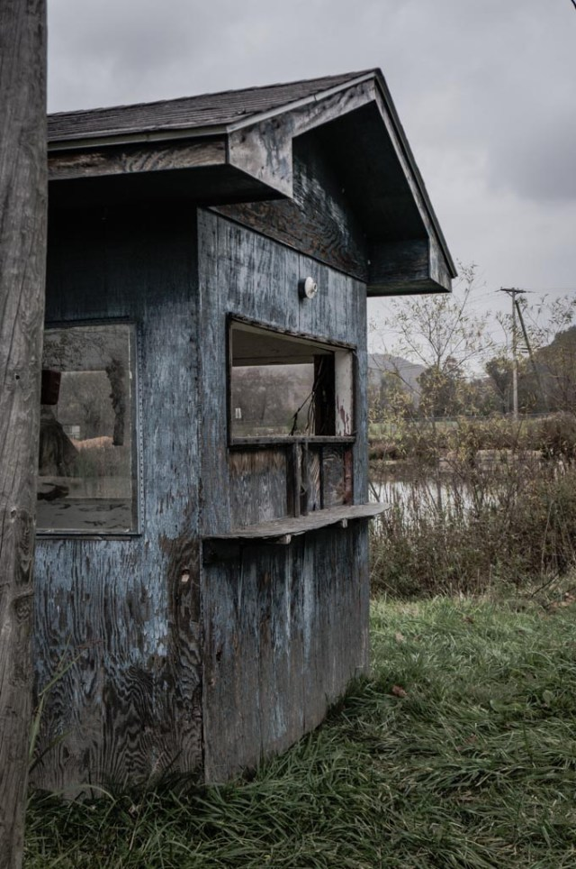 Abandoned Lake Sahwnee Ticket Booth