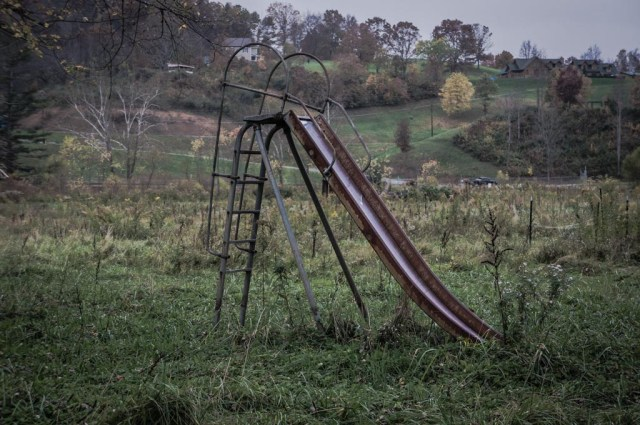 Abandoned Slide
