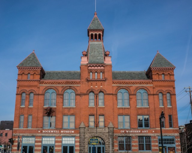 Old City Hall Building Corning NY