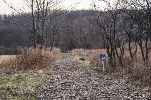 Trail at the Tanglewood Nature Center
