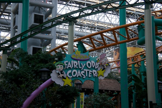 Roller Coasters at Mall of America