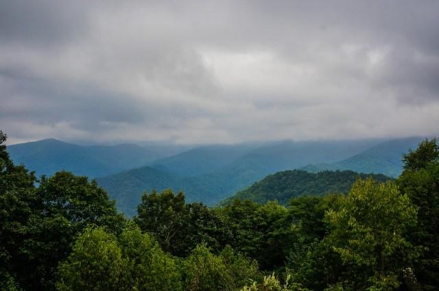 Blue Ridge Parkway Road Trip Vistas
