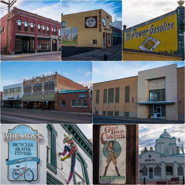 Historic Downtown Kalispell Montana