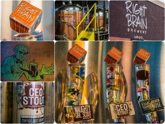 Right Brain Brewery traverse city travel guide