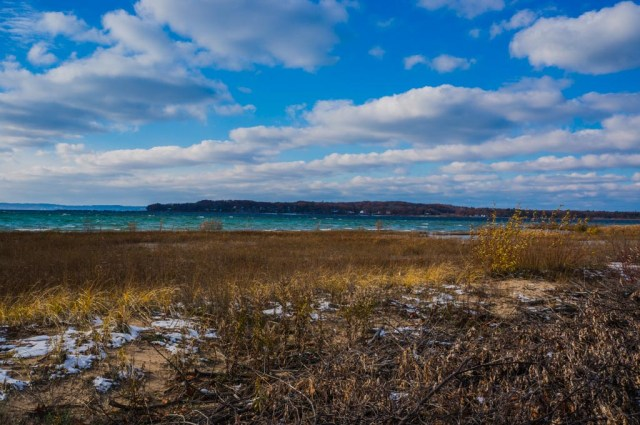 View of Lake Michigan from Traverse City