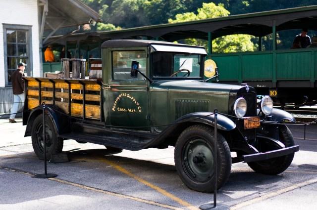 Cass Scenic Railroad Car