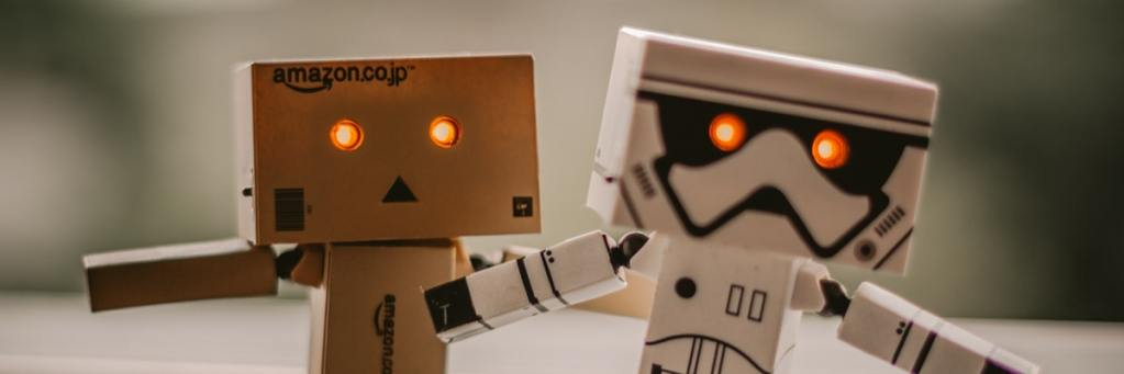 Amazon & Star Wars robots