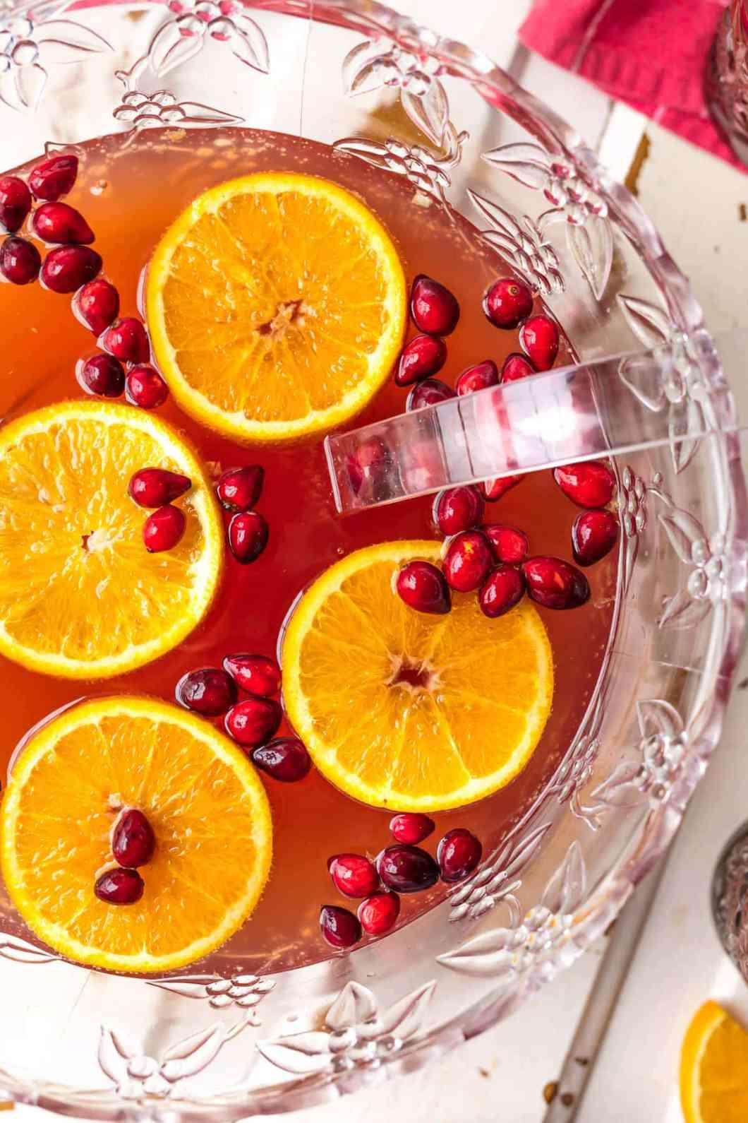 Easy Holiday Punch Recipes Non Alcoholic   Menurecipe.co