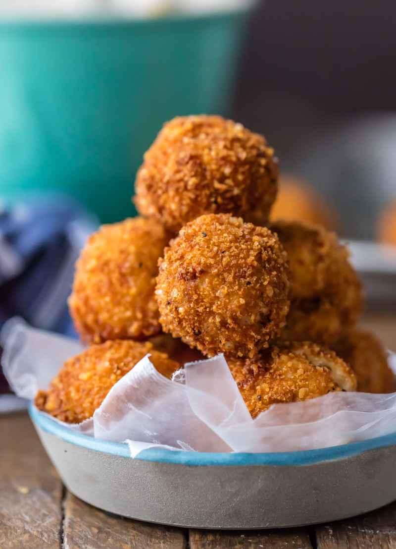 Fried Mashed Potatoes Bites