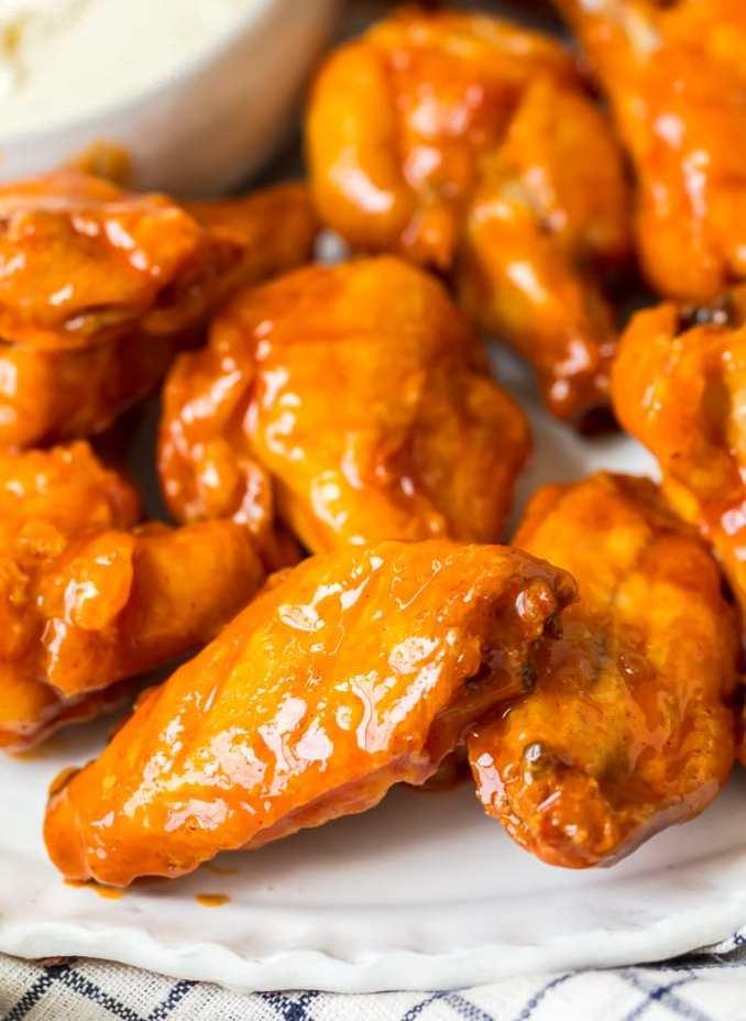 Buffalo Wings Recipe (VIDEO) - Baked Buffalo Chicken Wings