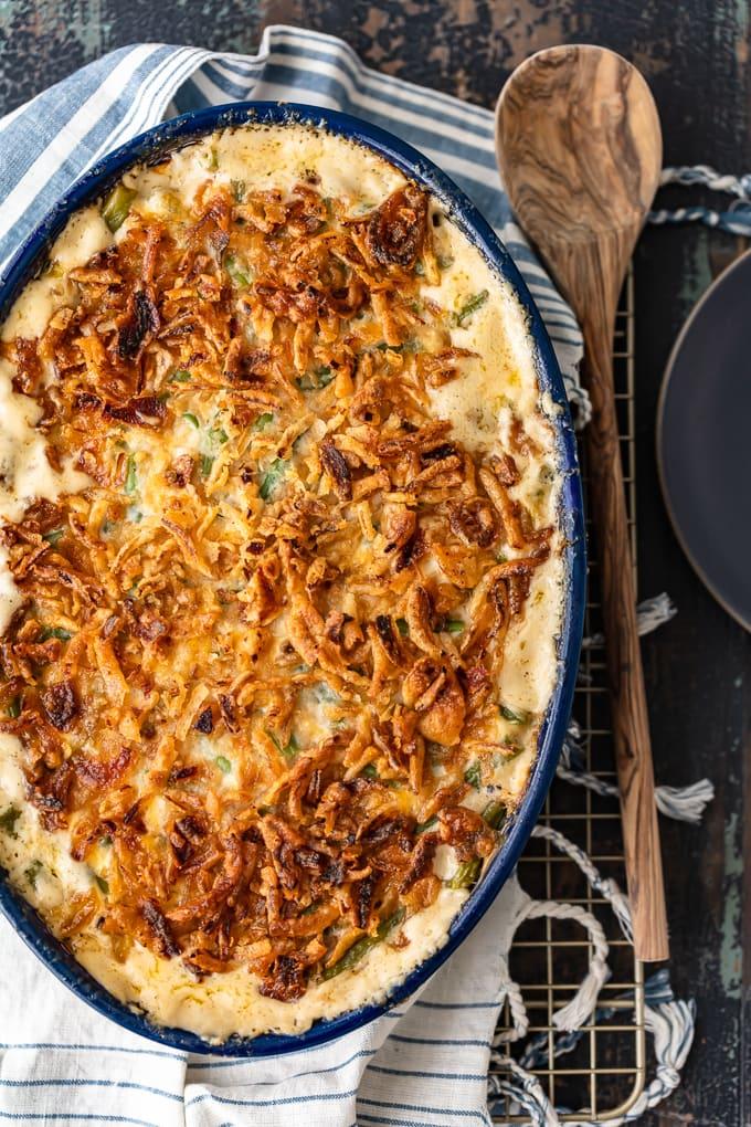 Best green bean casserole thanksgiving recipe