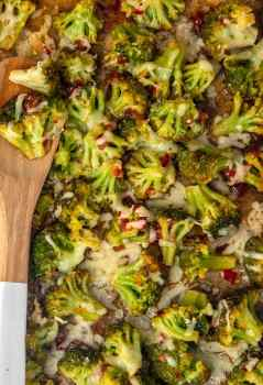 This Spicy Cheesy Broccoli Recipe is the perfect easy side dish for those busy nights. When you're rushing around and on the go, you still need to eat your vegetables and create a balanced meal! Kids and adults alike will love this Firecracker Broccoli with Cheese paired with Tombstone Pizza Cheesy Broccoli is a side dish the entire family will ask for again and again.
