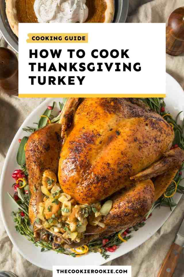 How to Cook Thanksgiving Turkey (Perfect Turkey Guide)