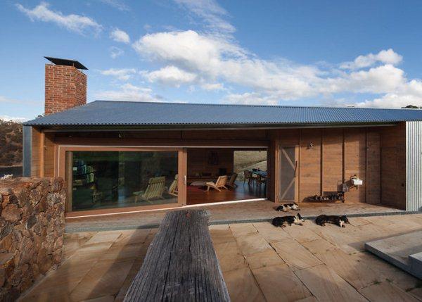 slide-dezeen-john-wardle-architects-shearers-quarters-north bruny island tazmania 8