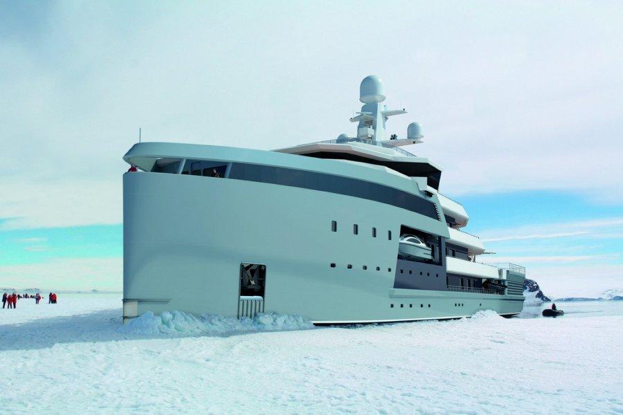 Damen SeaXplorer - yacht
