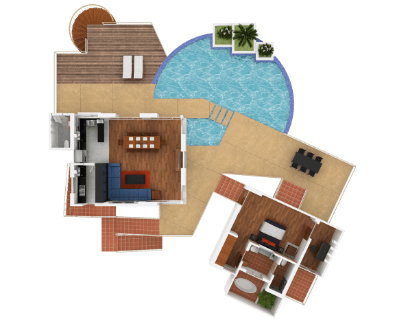 baan sairung upper floor plan