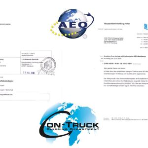 Con Truck Shipping obtains the prestigious AEO Certification