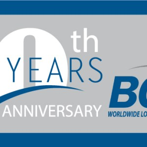 BGI Worldwide Logistics Inc celebrates its 20th Anniversary!