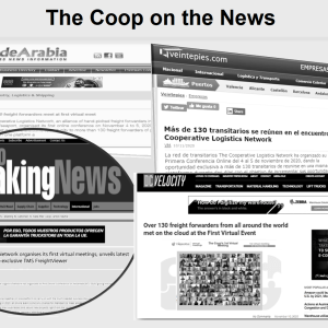 The news of The Coop's 1st Virtual Meeting gets published in several leading websites dedicated to the supply chain industry