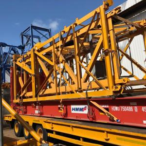 E2E Supply Chain Management kick-starts the New Year with three challenging shipments consisting of tower cranes