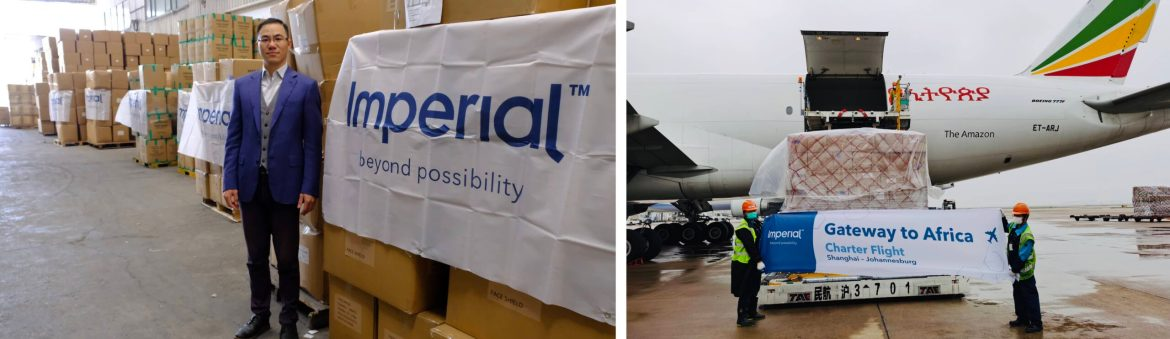 Cooperative member in Malmo, Imperial beats the airfreight capacity crunch with 10 charters of COVID-19 test kits