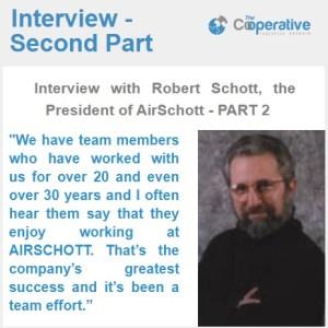 Interview with Robert Schott, the President of AirSchott – PART 2
