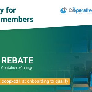 The Cooperative members will be awarded with a 5% rebate on subscription fees for their first year on xChange