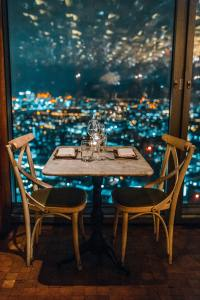 date night, table and chairs