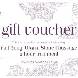Full Body, Warm Stone Massage – 2 hr Treatment