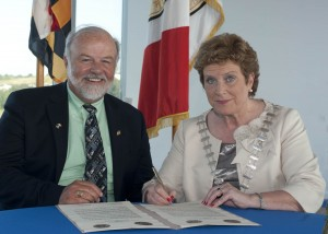 Cork (Ireland) signs Friendship Agreement with Maryland (USA)