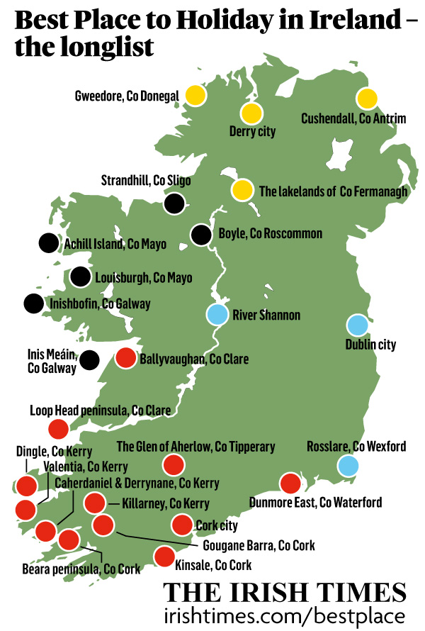 Cork is Best Place to Holiday in Ireland?