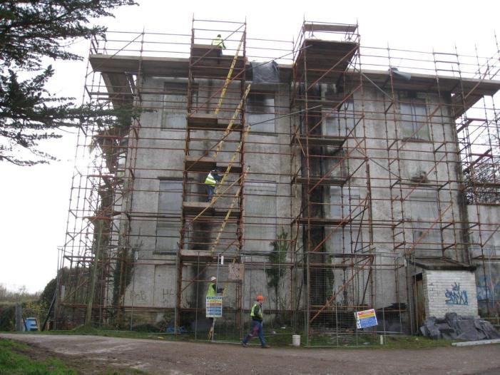 Vernon Mount restoration continues