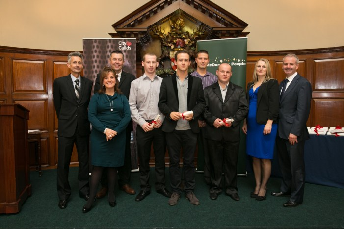 McDonald's employees from Cork awarded City & Guilds qualifications
