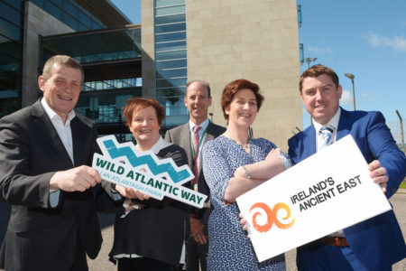 Cork Airport promotes 'Wild Atlantic Way' and 'Ireland's Ancient East'