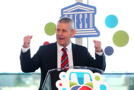 GLOBAL CITY: Celebration held in One Albert Quay to mark Cork City being chosen to host September's 'UNESCO 3rd International Conferences on Learning Cities'